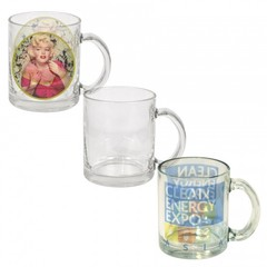 10 oz. Glass Mugs