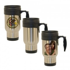 14 oz. Stainless Steel Economy Travel Mug