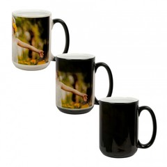 15 oz. Color Changing Mug - Black